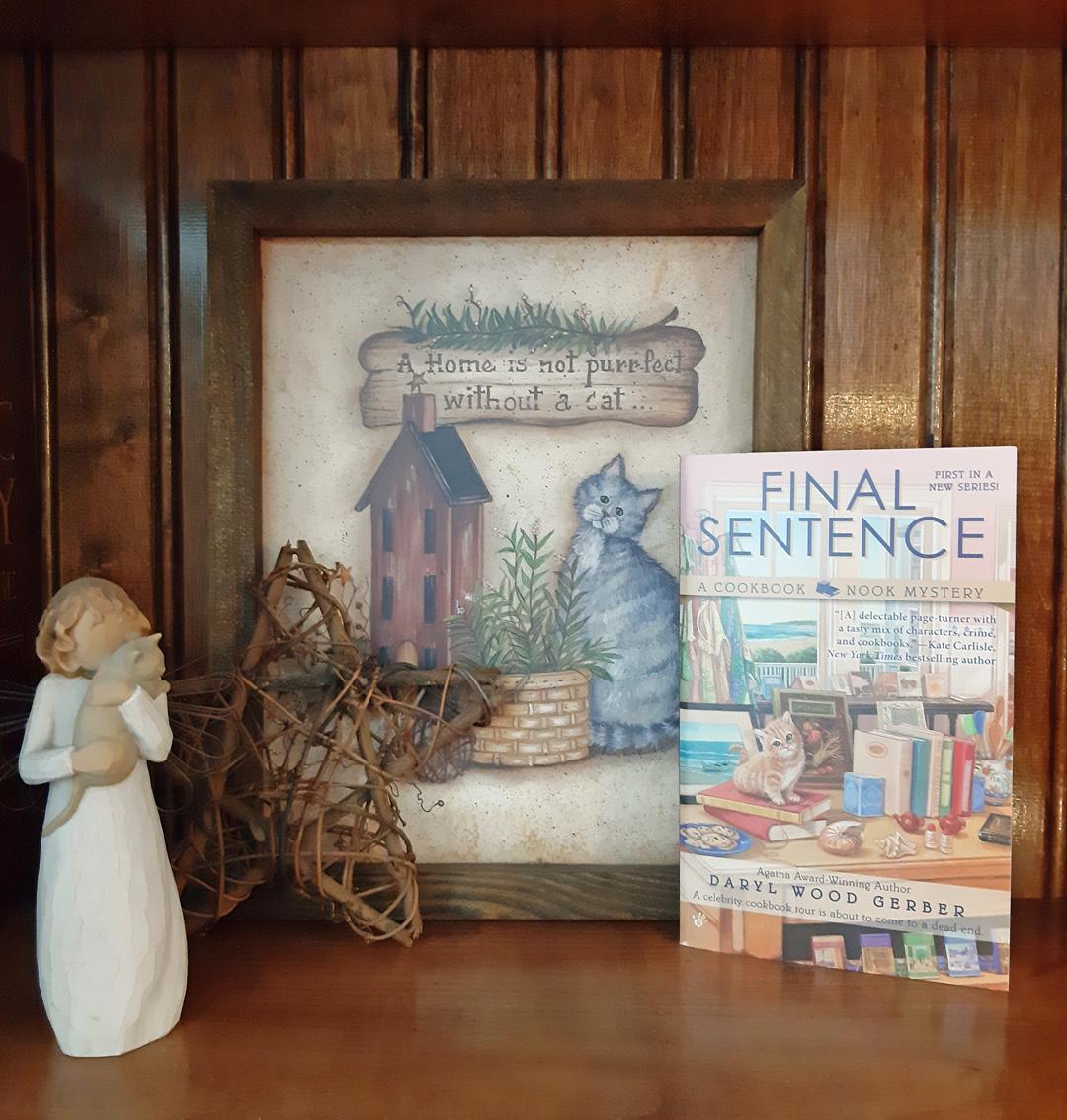 Daryl Wood Gerber – Final Sentence (A Cookbook Nook Mystery)