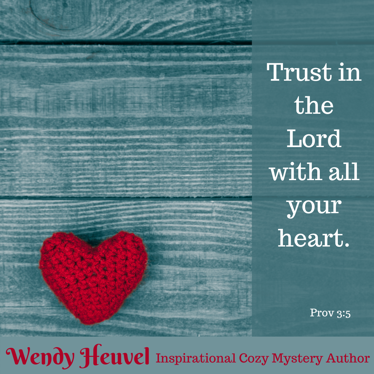 Prov 3:5 – Trust in the Lord