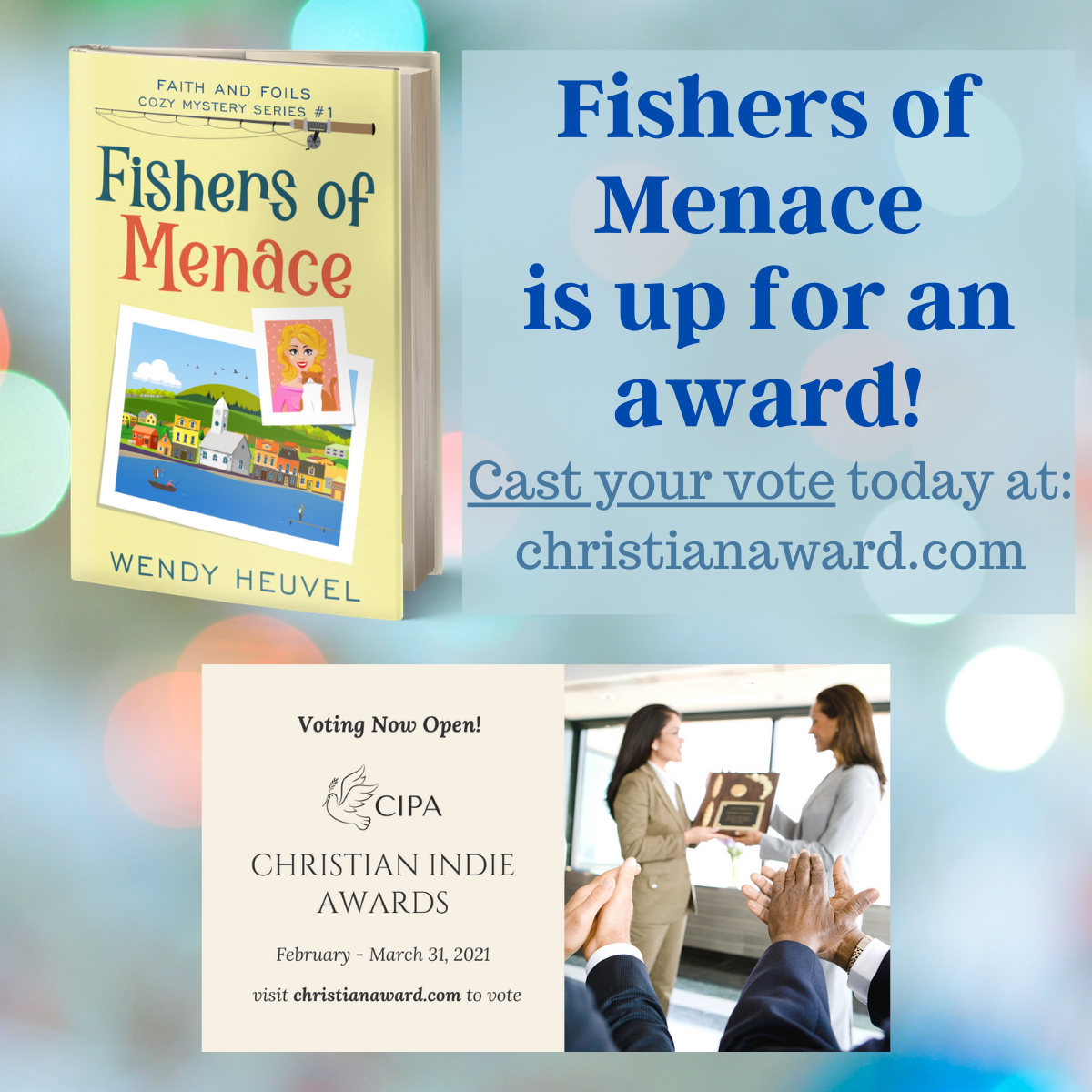Fishers of Menace Needs Your Vote!