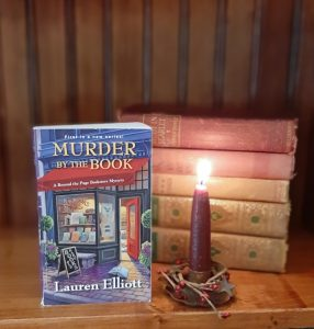 Lauren Elliott | Murder by the Book | A Beyond the Page Bookstore Mystery | Cozy Mystery