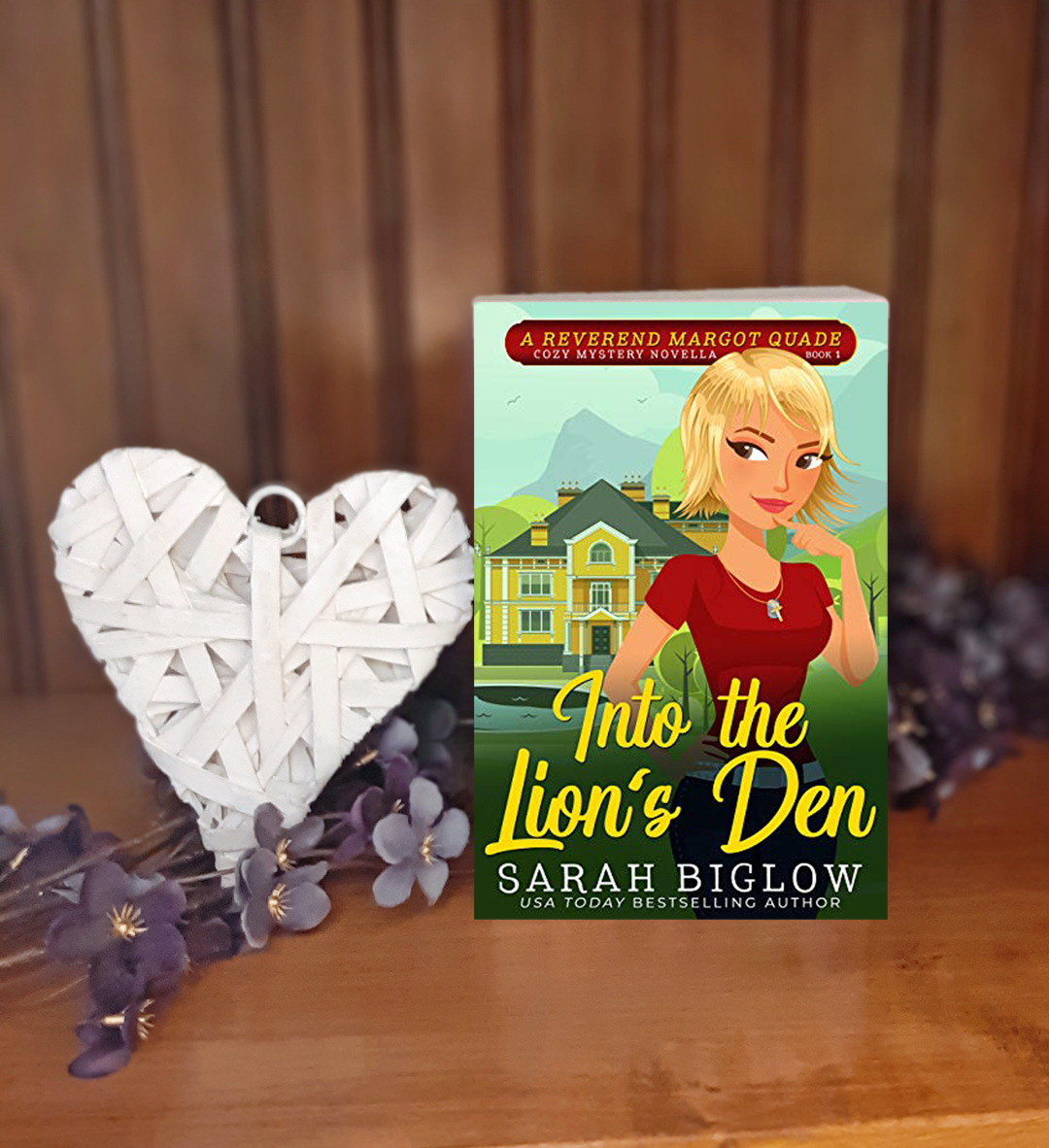 Sarah Biglow – Into the Lion's Den (A Reverend Margot Quade Mystery)