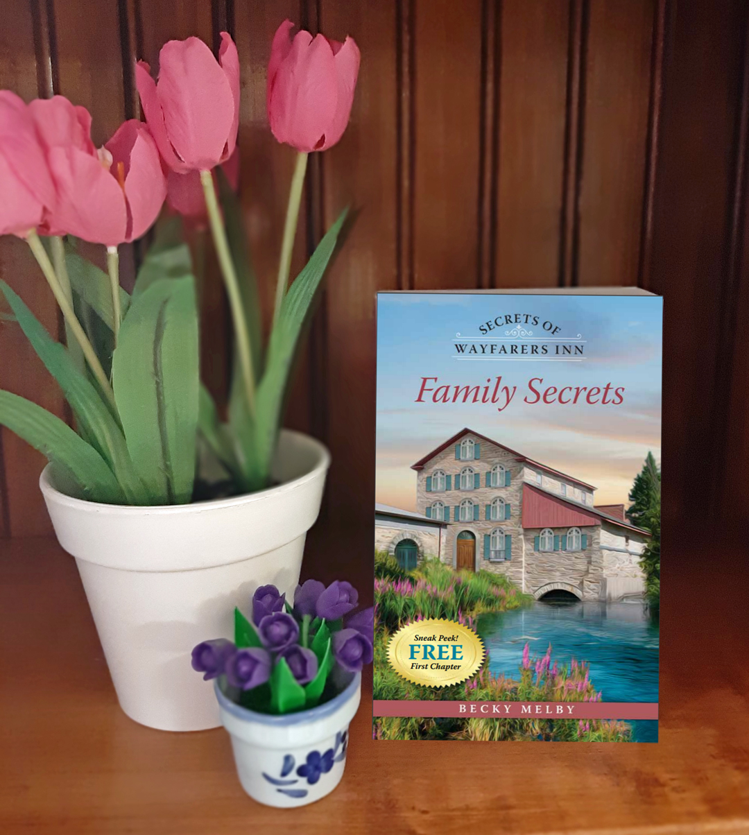 Becky Melby – Family Secrets (Secrets of Wayfarers Inn, #1)