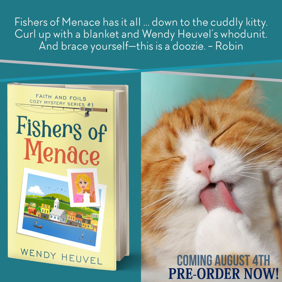 Fishers of Menace Book Release in One Week!