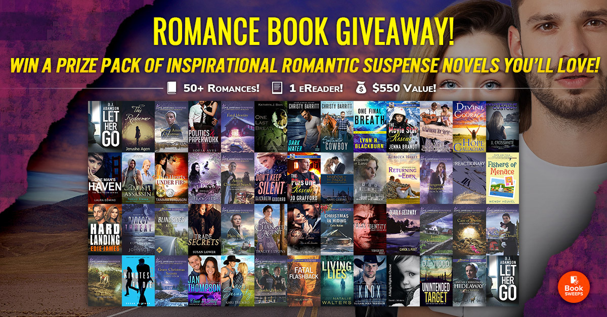 Amazing Inspirational Romantic Suspense Giveaway!