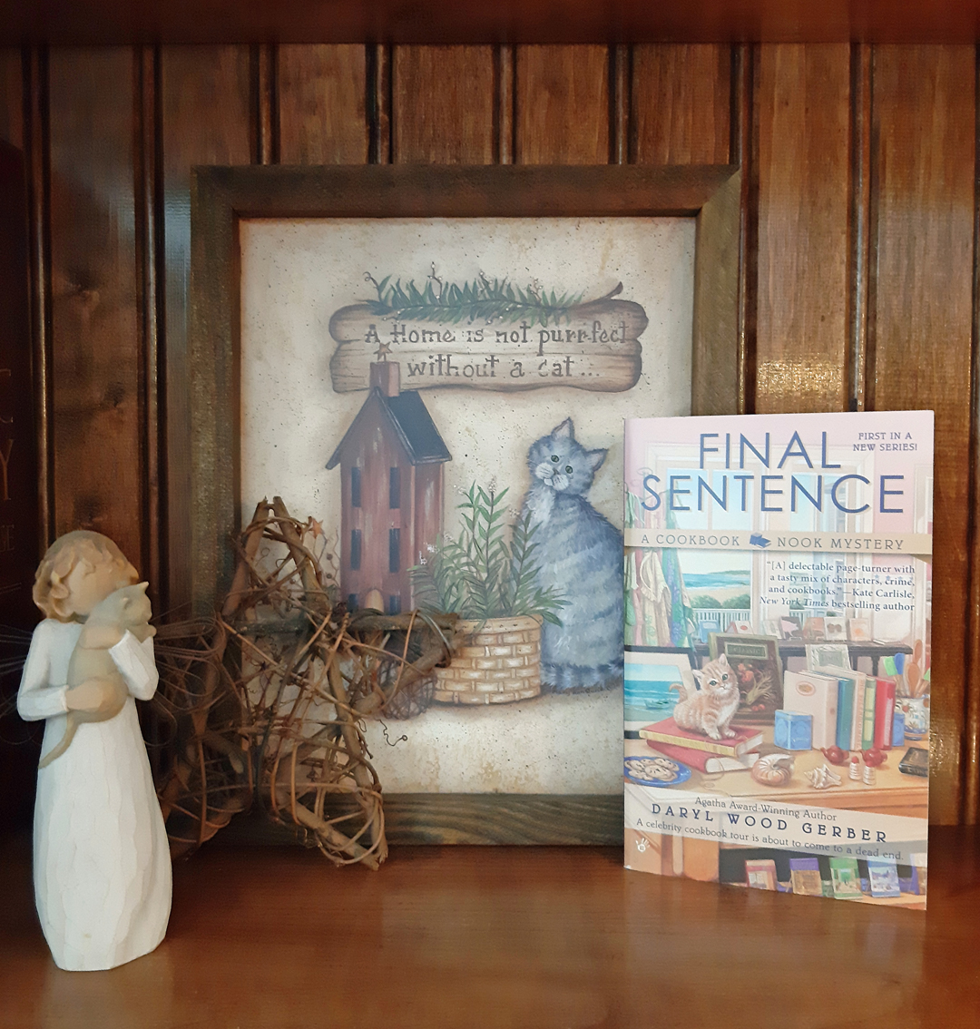 Daryl Wood Gerber – Final Sentence (A Cookbook Nook Mystery)