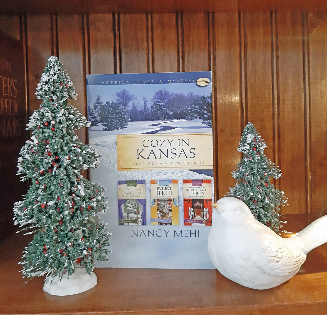 Nancy Mehl – Cozy in Kansas (The Ivy Tower Mystery Series)