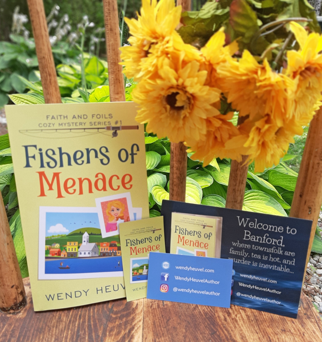 Today's the Day! It's FISHERS OF MENACE Release Day!