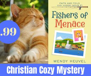 Faith and Foils Cozy Mystery Series | Wendy Heuvel