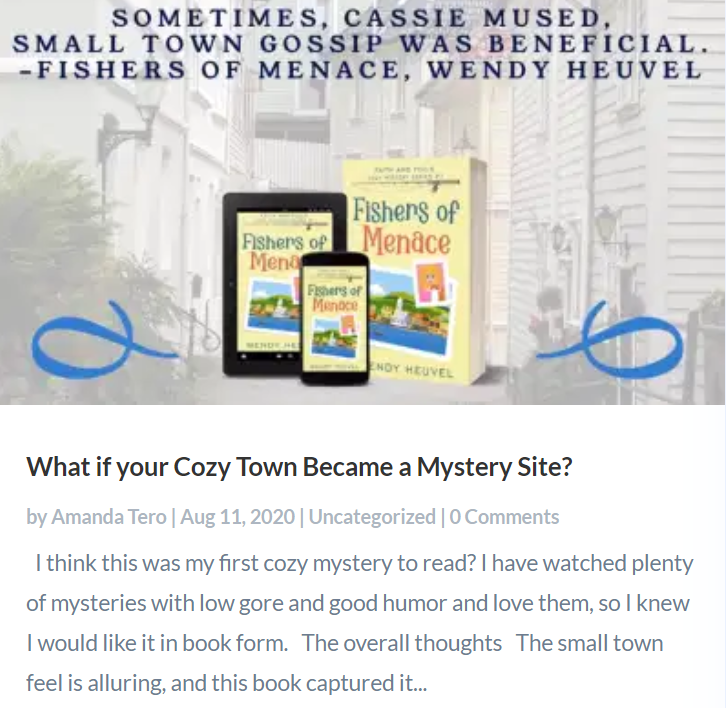 What if Your Cozy Town Became a Murder Site?