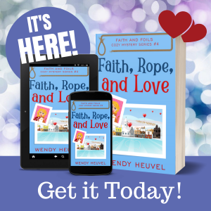 Faith and Foils Cozy Mystery Series | Wendy Heuvel