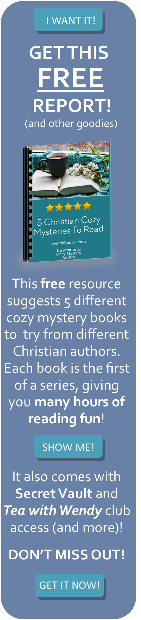 Christian Cozy Mystery | Christian Mystery Authors