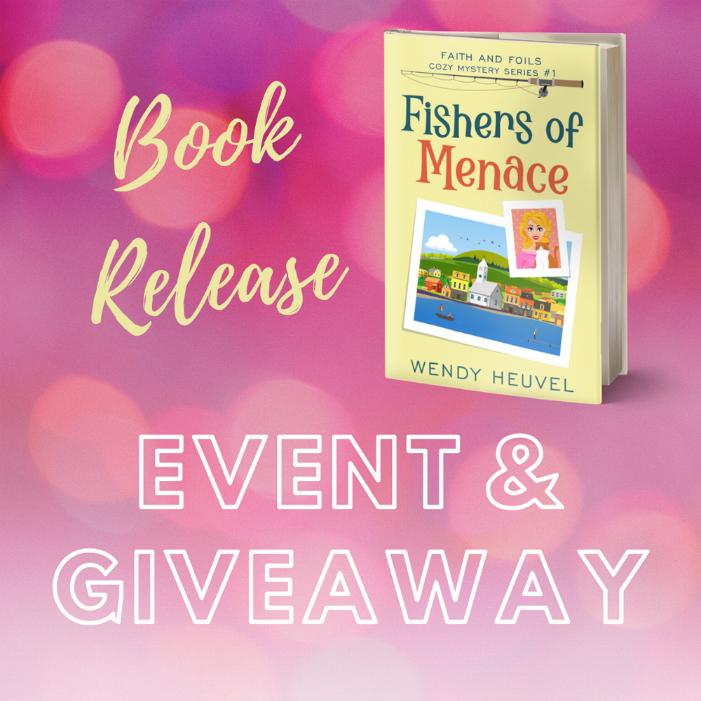 Book Release Event & Giveaway!