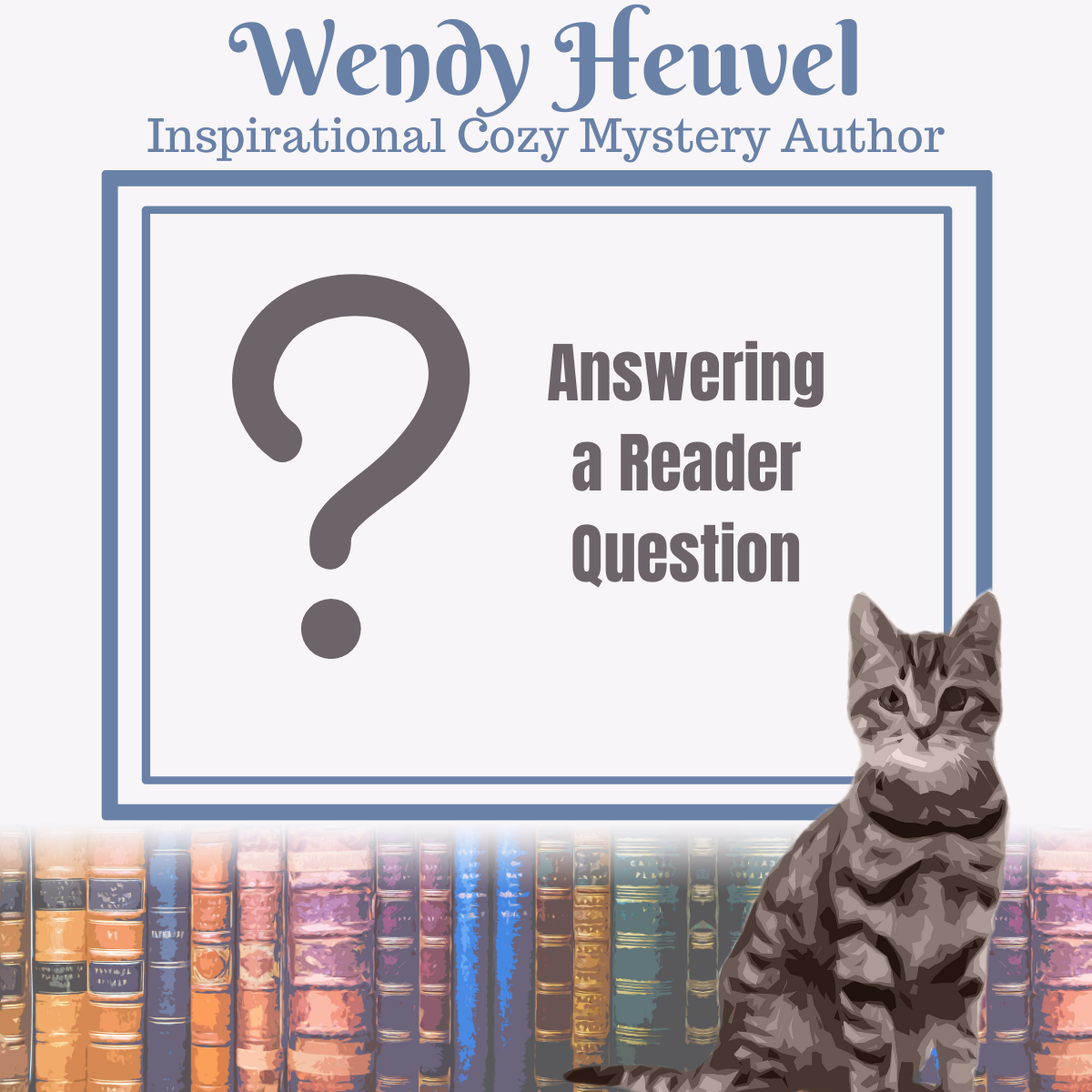 Answering a Reader Question… Favourite Books